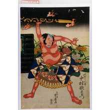 重春: 「奴やかん平 中村歌右衛門」 - Waseda University Theatre Museum