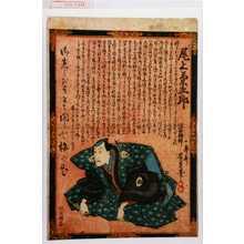 景松: 「上り 尾上菊五郎」 - Waseda University Theatre Museum