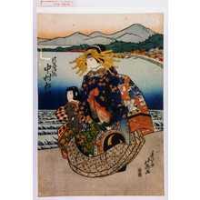 北英: 「けいせい浪路 中村松江」 - 演劇博物館デジタル