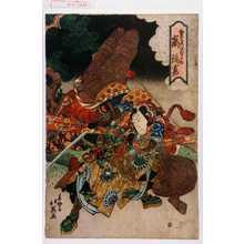 北英: 「栗島甲斐之助 嵐璃寛」 - Waseda University Theatre Museum