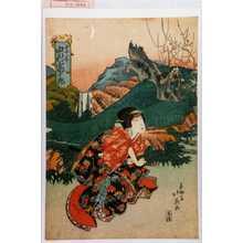 北英: 「妻木 中村富十郎」 - 演劇博物館デジタル