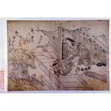 Nishikawa Sukenobu: 「衣通姫」 - Waseda University Theatre Museum
