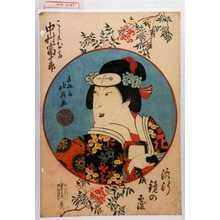 北英: 「流行鏡の覆」「こし元お高 中村富十郎」 - Waseda University Theatre Museum