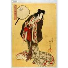 重信: 「大坂新町ねりもの」「中扇屋 雛鶴太夫 拾得」 - 演劇博物館デジタル