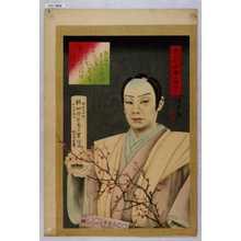 清光: 「明治十四年二月二十二日 義天院飛鶴日遊信士」 - Waseda University Theatre Museum