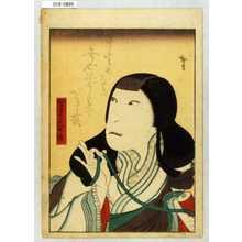 Utagawa Hirosada: 「里見ふせ姫」 - Waseda University Theatre Museum