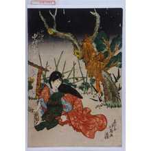 北英: 「小ゆき 松江改 中村富十郎」 - Waseda University Theatre Museum