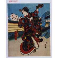 宗広: 「奥女中玉川」「中村玉七」 - Waseda University Theatre Museum