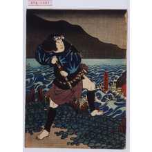 Utagawa Hirosada: 「鳥居又助」 - Waseda University Theatre Museum