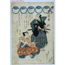 梅国: 「早野勘平 大星由良之介 沢村源之助」 - Waseda University Theatre Museum