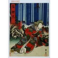 Utagawa Kunikazu: 「信仰記」「雪ひめ」「坂東彦三郎」 - Waseda University Theatre Museum