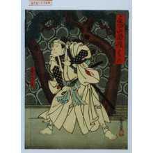 Utagawa Hirosada: 「亀山物語 巻ノ六」「石井源蔵」 - Waseda University Theatre Museum