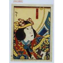 Utagawa Hirosada: 「白蝶」 - Waseda University Theatre Museum