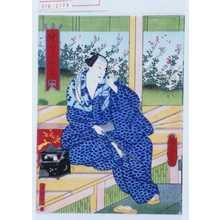 Utagawa Yoshitaki: 「中むら芝雀」 - Waseda University Theatre Museum