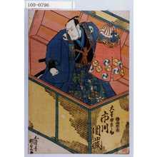 Utagawa Kunisada: 「大星由良之助 市川団蔵」 - Waseda University Theatre Museum