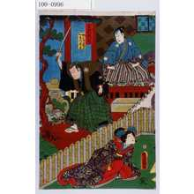 Utagawa Kunisada: 「第弐段目」「桃の井若狭之介 加古川本蔵」 - Waseda University Theatre Museum
