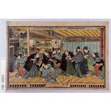 Utagawa Kunisada: 「仮名手本忠臣蔵 第七段目」 - Waseda University Theatre Museum