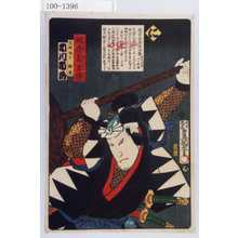 Utagawa Kunisada: 「誠忠義士伝 に 武林唯七隆重 市川市蔵」「(以下略)」 - Waseda University Theatre Museum