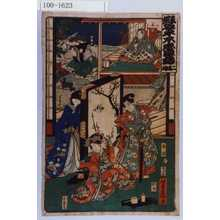 Yoshifuji: 「仮名手本忠臣蔵 二段目」「若狭」「本蔵」「となせ」「力弥」「小なみ」 - Waseda University Theatre Museum