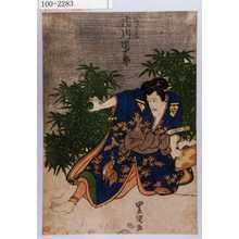 Utagawa Toyokuni I: 「箱王丸 市川団十郎」 - Waseda University Theatre Museum