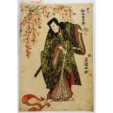 Utagawa Toyokuni I: 「伊久 松本幸四郎」 - Waseda University Theatre Museum