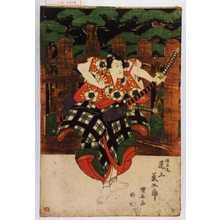 Utagawa Kuniyasu: 「梅王丸 尾上菊五郎」 - Waseda University Theatre Museum