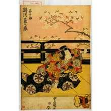 歌川豊国: 「忠のぶ 瀬川菊之丞」 - 演劇博物館デジタル
