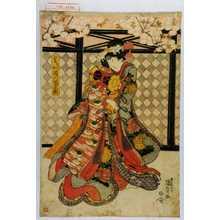 Utagawa Kunisada: 「郷の君 多門改 瀬川菊之丞」 - Waseda University Theatre Museum