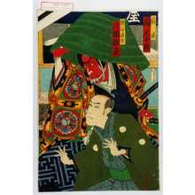 豊原国周: 「扇屋 関三十郎」「熊谷直実 片岡我童」 - 演劇博物館デジタル