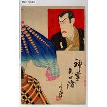 Migita Toshihide: 「神霊矢口渡」「市川団十郎」 - Waseda University Theatre Museum