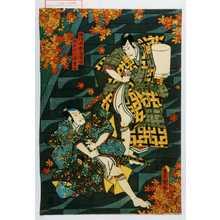 Utagawa Kunisada: 「梅津掃部之進国助」「柏木小六郎重安」 - Waseda University Theatre Museum
