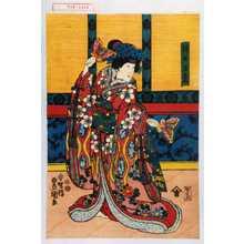 Utagawa Kunisada: 「侍女玉葛」 - Waseda University Theatre Museum
