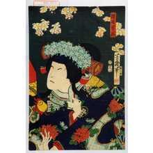 落合芳幾: 「狩野雪姫」 - 演劇博物館デジタル
