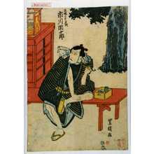 Utagawa Toyokuni I: 「立場の太平次 市川団十郎」 - Waseda University Theatre Museum