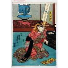 歌川国貞: 「宮城野」 - 演劇博物館デジタル