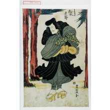 歌川豊国: 「遠藤武者 松本幸四郎」 - 演劇博物館デジタル