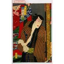 歌川国政〈3〉: 「牛嶋惣太 中村時蔵」 - 演劇博物館デジタル