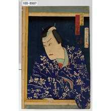 Toyohara Kunichika: 「阿部保名 河原崎権十郎」 - Waseda University Theatre Museum