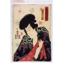 Toyohara Kunichika: 「俳優白浪当者 雲霧仁左衛門」「坂東彦三郎」 - Waseda University Theatre Museum