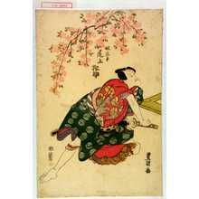Utagawa Toyokuni I: 「奴淀平 尾上松助」 - Waseda University Theatre Museum