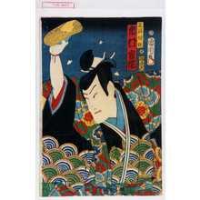 Toyohara Kunichika: 「不破伴作 市村家橘」 - Waseda University Theatre Museum