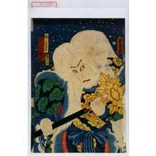 落合芳幾: 「猟人名古平 市川小団次」 - 演劇博物館デジタル