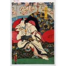 Utagawa Kunisada: 「北條よし時」 - Waseda University Theatre Museum