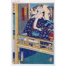 Toyohara Kunichika: 「小猿七之助 河原崎権十郎」 - Waseda University Theatre Museum