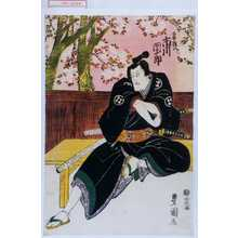 Utagawa Toyokuni I: 「梶の長兵衛 坂東三津五郎」 - Waseda University Theatre Museum