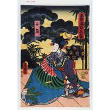 Utagawa Kunisada: 「寿海式三番」「千歳」 - Waseda University Theatre Museum
