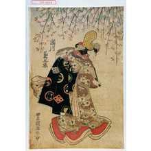 歌川豊国: 「瀬川菊之丞」 - 演劇博物館デジタル
