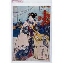 Utagawa Kunisada: 「調布の玉川」 - Waseda University Theatre Museum