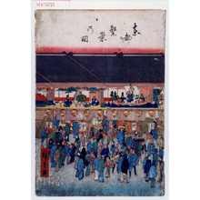 Keisai Eisen: 「東都繁栄乃図」 - Waseda University Theatre Museum