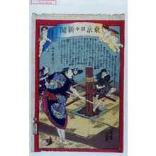 落合芳幾: 「東京日々新聞 九百四拾号」 - 演劇博物館デジタル